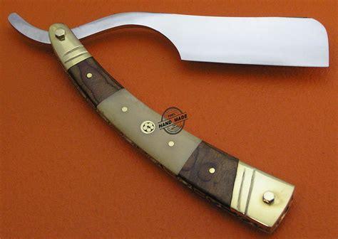 knife razor custom handmade knife damascus razor