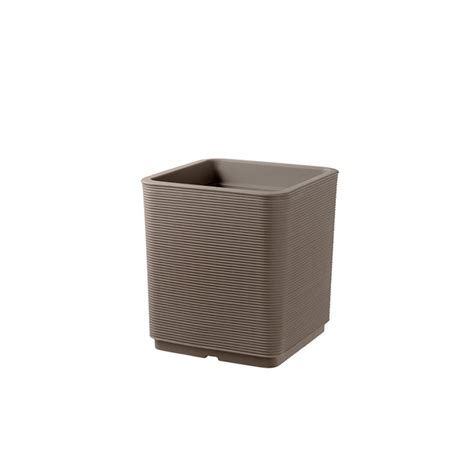 vaso resina esterno vaso quadrato per esterno e giardino in resina