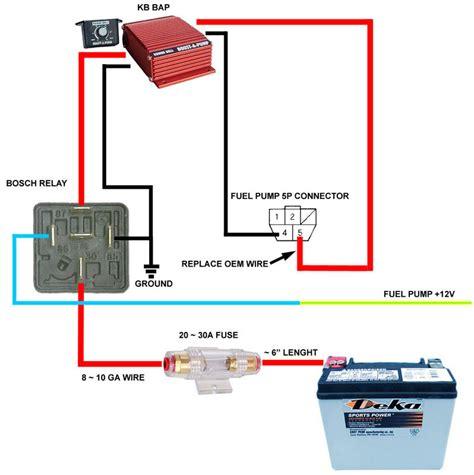 bosch fuel relay wire diagram 34 wiring diagram