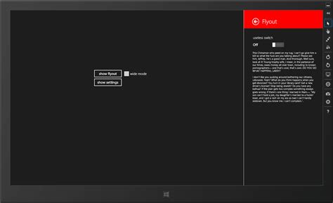 update layout xaml flyout control for windows 8 metro xaml c thecake s blog