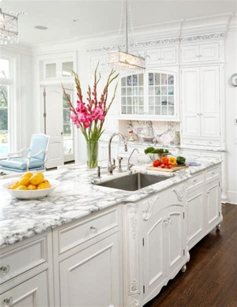White Kitchen Decorating Ideas Beautiful White Kitchen Design Ideas