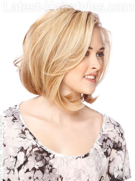 medium length bobs for fine hair short in back long in front 15 winning hairstyles for thin hair