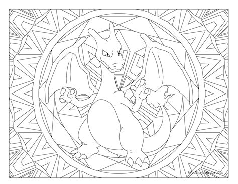 pokemon coloring pages for adults pokemon coloring mandala images pokemon images