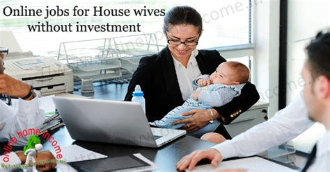 Work From Home Online Jobs For Moms - 5 ways to earn money online jobs without investment