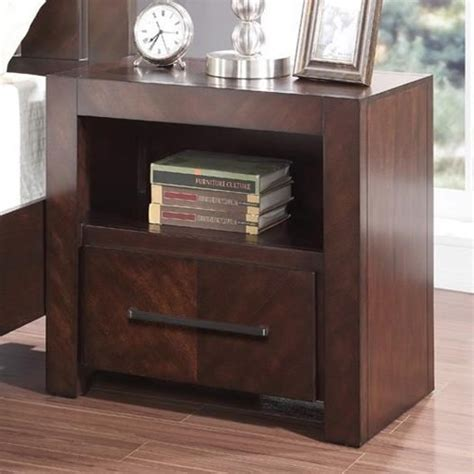 nightstand l with usb port legends furniture city lights zctl 7015 night stand with
