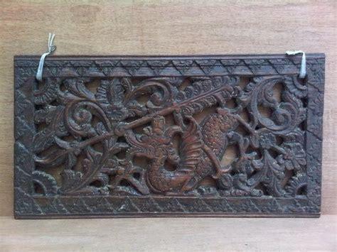 Gong Antik Cap 2 Naga karya babah antik ukiran naga