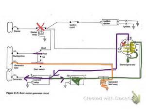 starter generator circuit