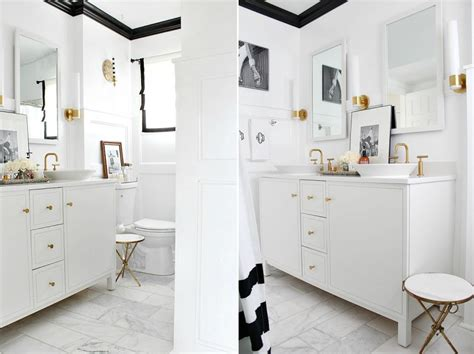 bathroom trim ideas 10 unique painting ideas featuring black trim