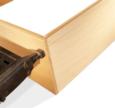 Make A Drawer Box by Fast And Easy Drawer Boxes Popular Woodworking Magazine