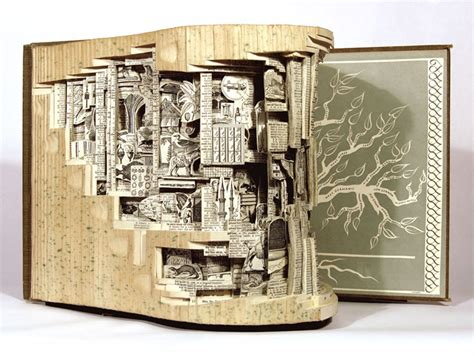 picture book artists artist brian dettmer carves books into intricate