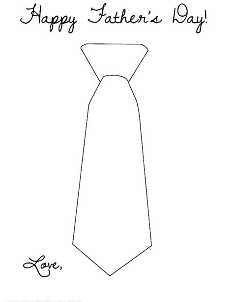 Shirt And Tie Coloring Page Sketch Coloring Page Tie Coloring Page