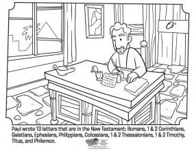 free coloring pages of apostle paul