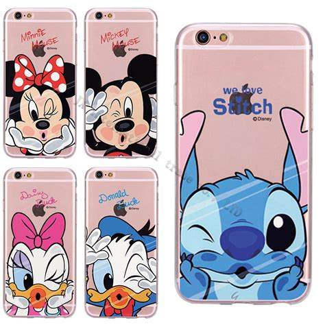 Casecassingcasing For Iphone 6 6s Plus Soft Minnie mickey minnie mouse donald duck pooh soft silicon for iphone 4 4s 5 5s 6 6s 6