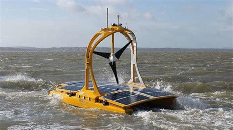 boat car robot autonomous solar powered catamarans c enduro