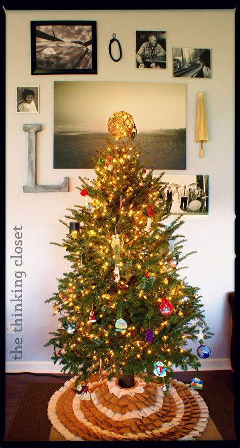 Tree Closet by D I Y Twine Tree Topper The Thinking Closet