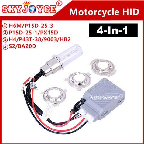 Led Hid Motor ᓂdc12v h6 hid xenon headlight ᐃ ba20d ba20d scooter