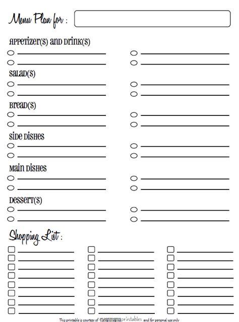 hairstyles inventory labels printable menu planner homecoming hairstyles