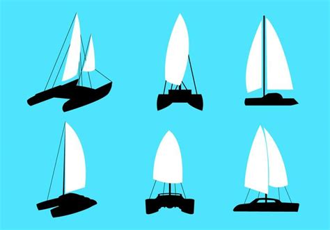 catamaran vector catamaran vectors download free vector art stock