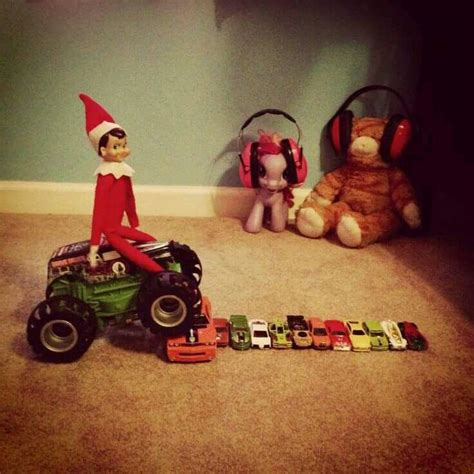 funny monster truck videos 103 best elf on the shelf images on pinterest holiday