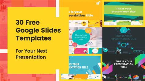 30 Free Google Slides Templates For Your Next Presentation Free Slide Templates