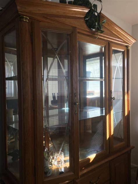 solid wood china cabinet solid wood china cabinet for sale classifieds