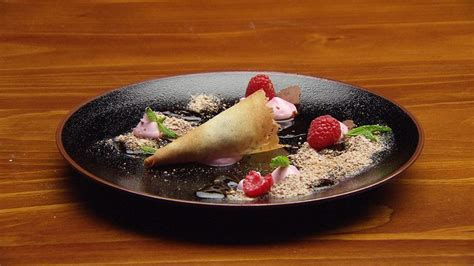 Tuile Recipe Masterchef by Fallen With Coffee Tuile And Raspberry