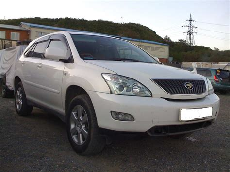toyota harrier 2005 toyota harrier 2 4 2005 auto images and specification