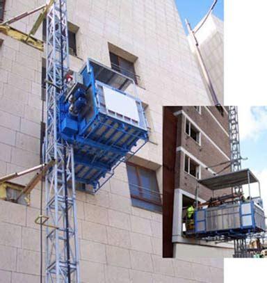 montacarichi a cremagliera edil rental noleggio ascensori da cantiere per materiale e