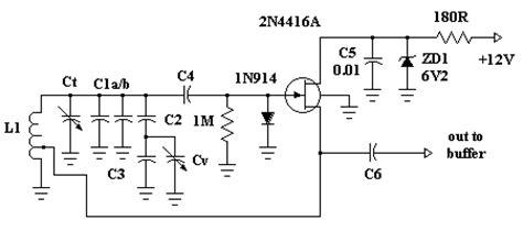 fet transistor oscillator buffer lifiers
