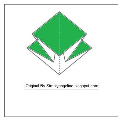 cara membuat origami burung walet cara membuat origami burung simply angeline