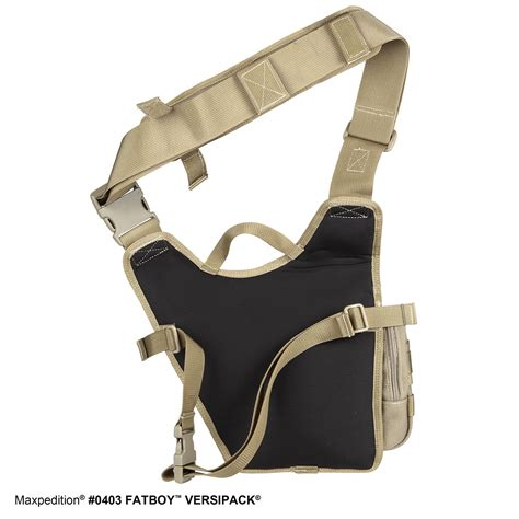 Sling Bag Ravre Fatboy Grey fatboy versipack tactical gear concealed carry