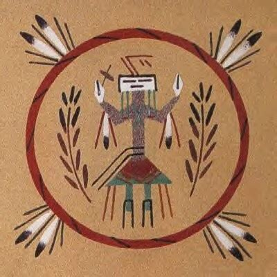 Sand Painting southwestern navajo sandpainting 2nd grade favorite