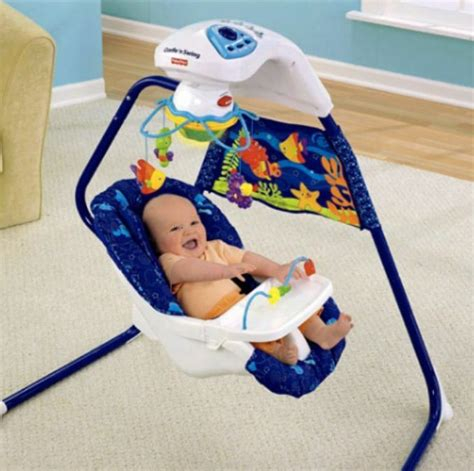 Fisher Price Wonders Cradle Swing - fisher price cradle n swing wonders aquarium in