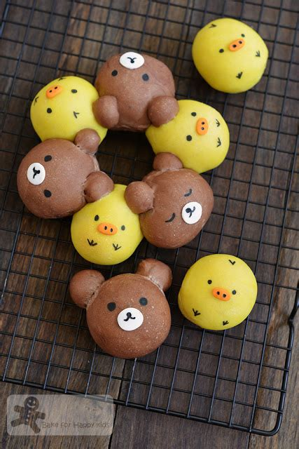 Tsum Tsum Chigiripan Pull Apart Bread bake for happy my and food at my instagram jan feb 2016