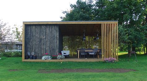moderner gartenpavillon modern gazebo mellmarc prim modern gazebo