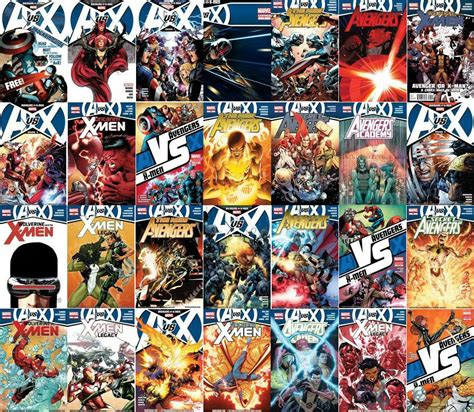 vs x comics what titles are involved with vs