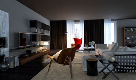 Urban Living Room Design | awesomely stylish urban living rooms