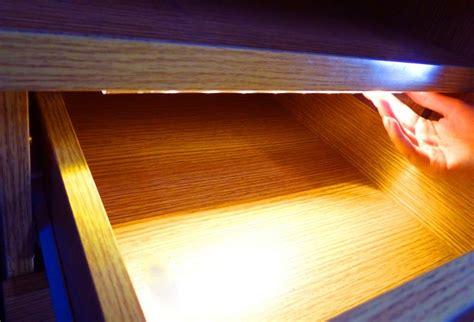 lade oled led keuken lade kast verlichting warm wit sensor