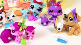 Lps mommies series mommy and baby littlest pet shop haul opening toy