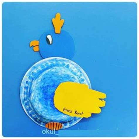 paper plate parrot craft paper plate craft idea for crafts and worksheets