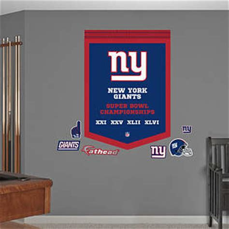 new york giants super bowl chions banner