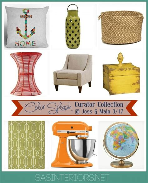joss and main joss and main color splash curator collection is live