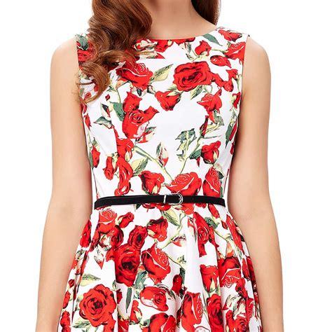 50 s swing dress rosie retro 50s swing dress 1950sglam