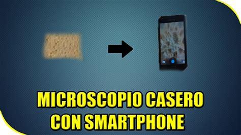 trio casero grabado con un celular como hacer microscopio casero con movil celular
