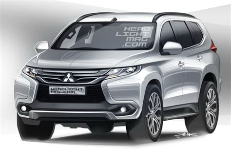 Outer All New Pajero Sport 2016 Model Sport Mb 002 2016 mitsubishi pajero sport masterfully rendered autoevolution