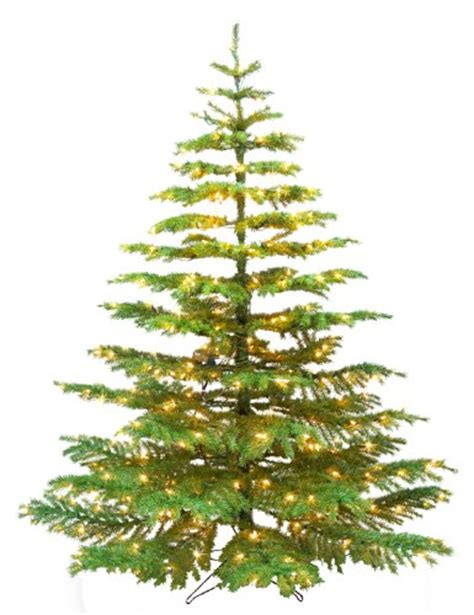 barcana 7 1 2 foot noble fir ready trim christmas tree