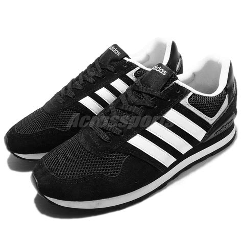 Adidas Neo Casual For Made In 02 adidas neo label 10k black white suede mens casual shoes trainers aw3854