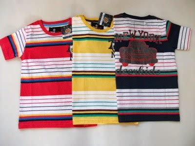 Kaos Salur Uk 8 10th Kaos Salur Anak Tanggung Cewe Kaos Murah Kaos A rafikids grosir baju anak branded kaos salur deer