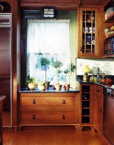 low kitchen cabinets kitchen window