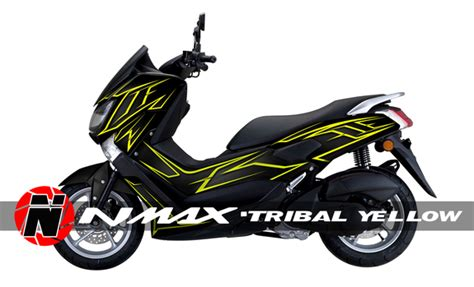 Kaos N Max yamaha n max n max nmax custom decal sticker graphic kit